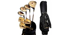 黄金款DP-2男高尔夫球套杆组
