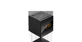 闹钟收音机 黑色 ICF-C1